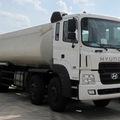 Bán xe bồn chở xăng dầu Hyundai 4 chân HD310, đời 2009