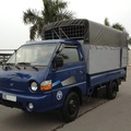Bán xe tải Hyundai 1 tấn nhập khẩu máy cơ thùng bạt đời 2002, biển 29C