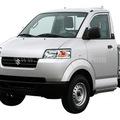 Xe tải cũ Suzuki đầu to 750kg nhập màu trắng thùng lửng có điều hòa cuối 2012