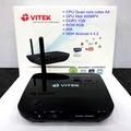 Android HD Karaoke thông minh Vitek HDC100 tích hợp sẵn phần mềm karaoke với 7300 bài hát , Điều khiển bằng Smart phone