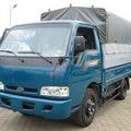 Bán xe tải cũ Kia 1,4 tấn, K3000s trường hải thùng khung mui bạt màu xanh 2011