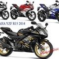 Bán Yamaha R25, yamaha r15, bajaj pulsar 200ns, yamaha fzs fi v2.0 nhập khẩu nguyên chiếc 2014 mới