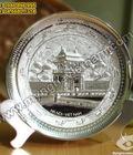 Hình ảnh: Quà tặng mỹ nghệ, đĩa đồng, đĩa bạc, đĩa đúc, đồ đồng mỹ nghệ, đĩa đúc đồng, đĩa ăn mòn, đĩa đồng quà tặng, quà tặng mỹ