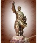 Hình ảnh: Tượng Trần Hưng Đạo, Đức Thánh Trần, tượng phong thủy, Tượng đồng mỹ nghệ, quà tặng văn hóa, vật phẩm phong thủy