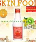 Hình ảnh: Mỹ phẩm Skin food: Kem tẩy trang đường đen, trà xanh, rong biển, mật ong, dấm táo...