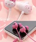 Hình ảnh: Tai nghe hình Hello Kitty