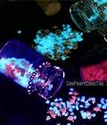 Hình ảnh: Móc khóa đá phát sáng, cát dạ quang Nhật Bản, món quà thú vị cho mọi người