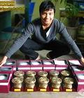 Hình ảnh: MYNGHEVIETNAM Đồ đồng mỹ nghệ, rẻ, độc, đẹp : Tranh đồng, tượng đồng,... quà tặng ý nghĩa và đậm bản sắc dân tộc