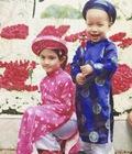 Hình ảnh: Áo dài trẻ em, áo dài thượng thọ hàng may sẵn chất lượng cao