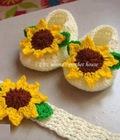 Hình ảnh: Giày và mũ len cho bé yêu, gửi hàng toàn quốc qua bưu điện, sản phẩm handmade len Việt Nam