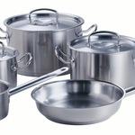 Bộ nồi nấu ăn nhanh 3 đáy Fissler đun từ 336 Tây Sơn   số 7 Thể Giao
