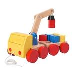 Cần cẩu gỗ MULA Crane with blocks