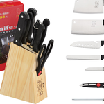 Dao và giá cắm dao