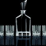 Bộ 6 ly 1 bình đựng rượu Whisky Nachtmann   Đức ML HO220