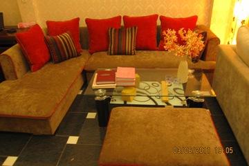 Nội thất cao cấp LuxuryHome   Bộ sofa góc nỉ mã LH FCS30A