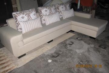 Nội thất cao cấp Luxury Home   Bộ sofa góc nỉ mã LH FCS56