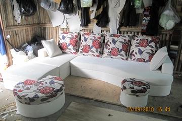 Nội thất cao cấp Luxury Home   Bộ sofa góc nỉ mã LH FCS