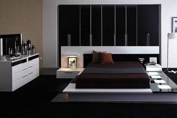 MSP 005. Giường ngủ gỗ veneer sồi đẹp mẫu 2014