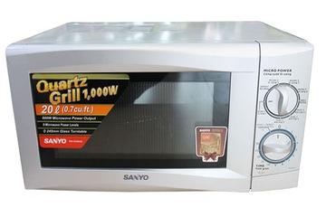 Lò vi sóng và lò nướng dùng cho bếp gia đình