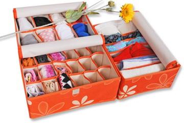 Set 3 hộp đựng đồ nhiều ngăn có nắp  không thấm nước
