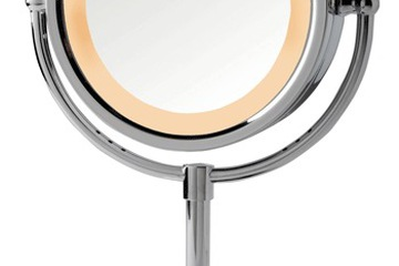 Gương trang điểm phóng to đèn LED HL745
