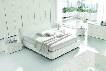 MSP 016. Giường ngủ gỗ veneer sồi đẹp mẫu 2014