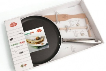 CHẢO Ballarini Crepes Set . Made in ITALY