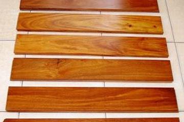 Ván sàn gỗ gõ đỏ, 600mm