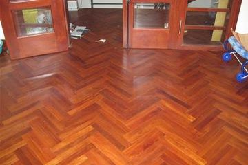 Ván sàn gỗ gõ đỏ QC 750mm