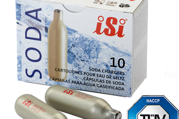Gas iSi soda chargers box 10
