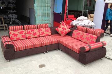Sofa góc nỉ. MSP 05