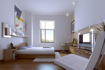 Giường ngủ gỗ công nghiệp EPN 215