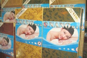 Đệm bông ép Hàn Quốc Nano Max 1.6 x 2.0m dày 9cm