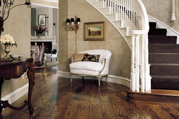 Walnut wood flooring. Hoangphucwood