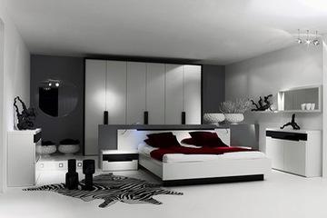 MSP 020. Giường ngủ gỗ veneer sồi đẹp mẫu 2014
