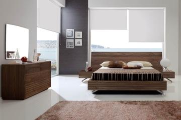 MSP 001. Giường ngủ gỗ veneer sồi đẹp mẫu 2014