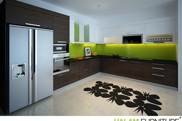 L shape kitchen 04