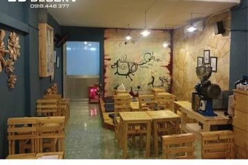 Thi công, trang trí quán cafe Gió