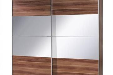 MSP111: Tủ áo gỗ sồi tự nhiên cánh trượt