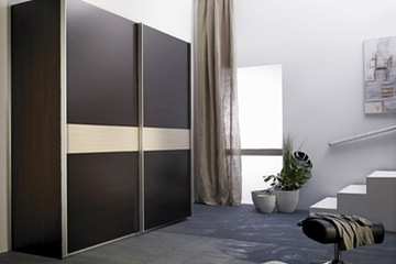 MSP 022 : Tủ áo gỗ sồi tự nhiên cánh trượt