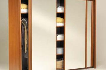 MSP 202 : Tủ áo gỗ sồi tự nhiên cánh trượt