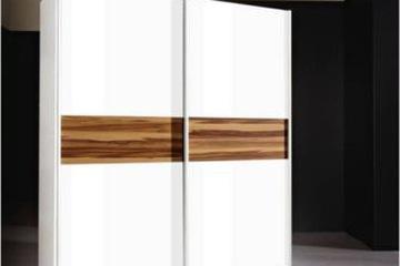 MSP 203 : Tủ áo gỗ sồi tự nhiên cánh trượt