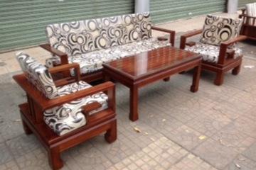Soffa gỗ đẹp hiện đại