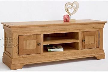 Kệ tivi gỗ sồi   nội thất xuất khẩu