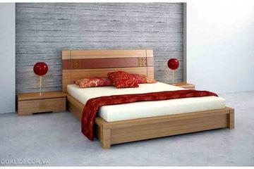 Giường ngủ giá rẻ ms01