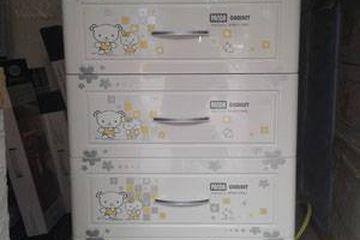 Tủ Nhựa Panda Song Long