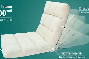 Ghế ngồi bệt , ghế ngồi bệt có tựa lưng Tatami