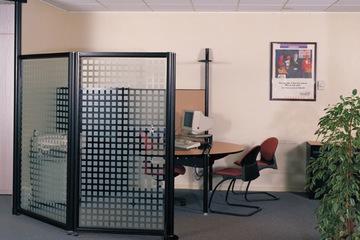 Vách ngăn kính văn phòng đẹp VVP04
