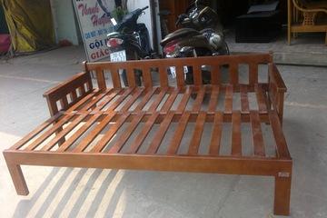 sofa giường đa năng, sofa giường gỗ đẹp giá rẻ