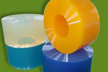 Vách ngăn màn nhựa PVC tron, trơn, mềm, mịn